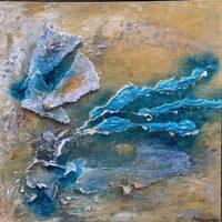 Iceno_eigen_werk_powertex_schilderij_water