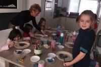 Kinderfeestje zeepkettingen