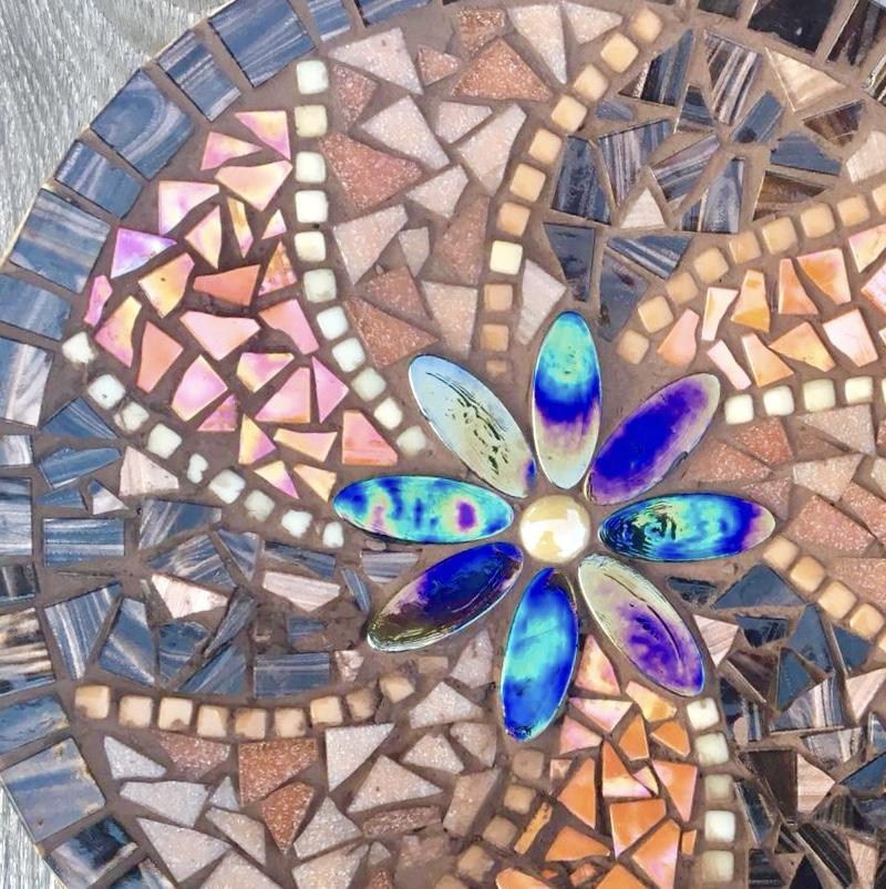 Schaal mozaiek iceno