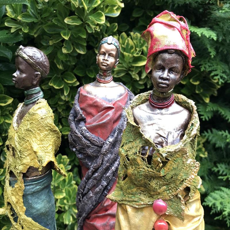 afrikaanse sculpturen iceno