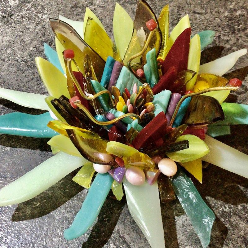 bloem mozaiek iceno